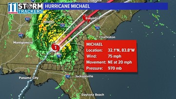 TIMELINE | How will Hurricane Michael affect Georgia?