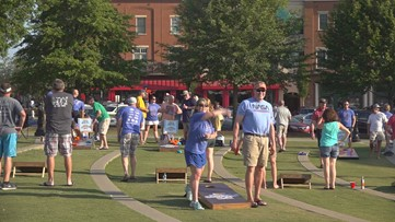 From backyards to television sets, Cornhole gains players and fans