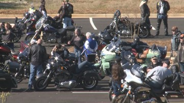 Henry County supports family of fallen officer with memorial motorcycle ride