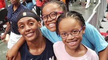 9-year-old Atlanta Dream superfan brought to tears after receiving surprise from one of the players