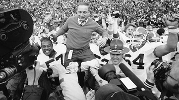 UGA launches plan to name football field after Dawgs coaching legend