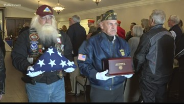 Remains of 7 Georgia WWII veterans, on shelf for years, finally laid to rest