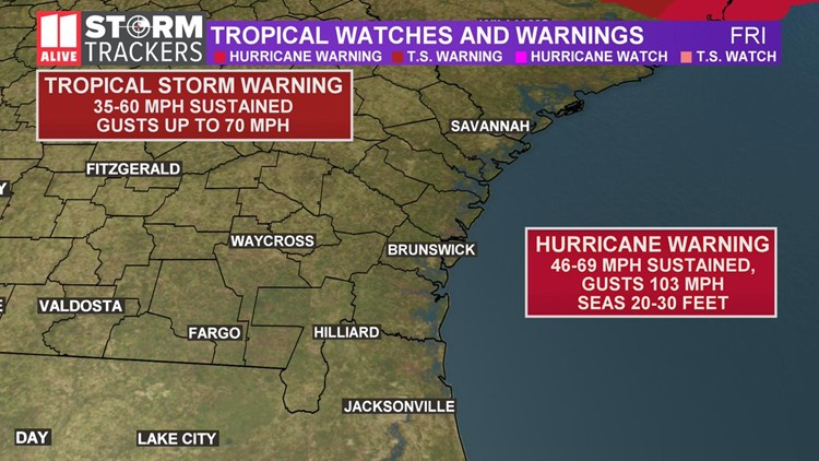 Trop watches and warnings 09.06 5am