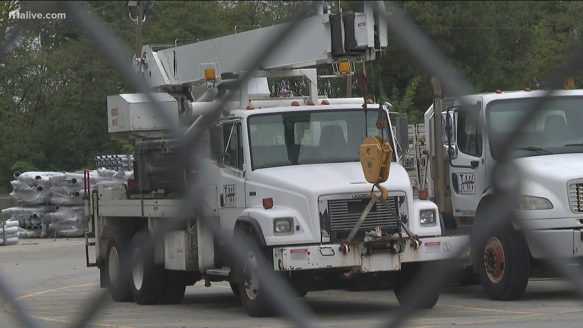 Zeta Causes Power Outages In Georgia 13wmaz Com
