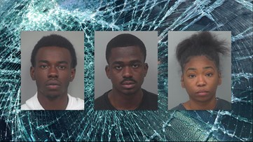 3 arrested after police say they used Molotov cocktails to damage patrol cars at homes of officers