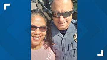 Gwinnett mother, police officer go viral after touching exchange