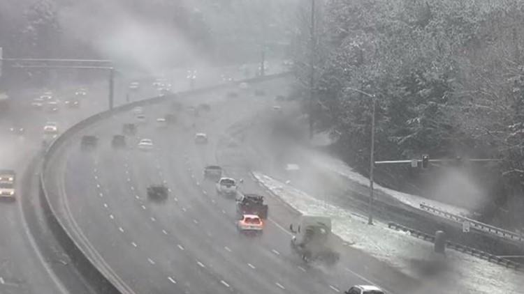I-285 Snow