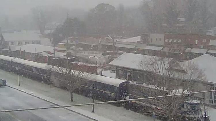 Blue Ridge Snow