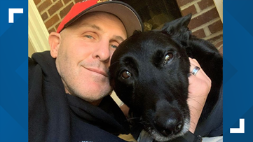 'He was hurt, but he was telling me it was going to be OK': K-9 officer shot recovering, despite amputation