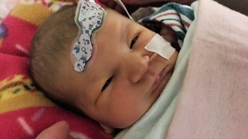 Rare heart condition claims baby girl who fought it her entire 3 weeks of life