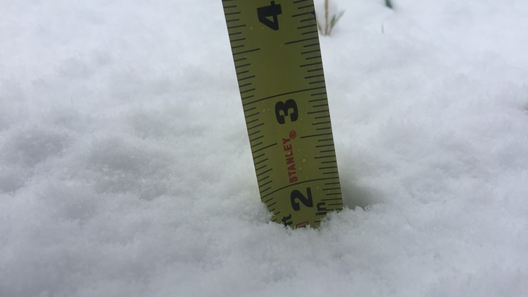 tyson paul - 2 inches in canton and still snowing
