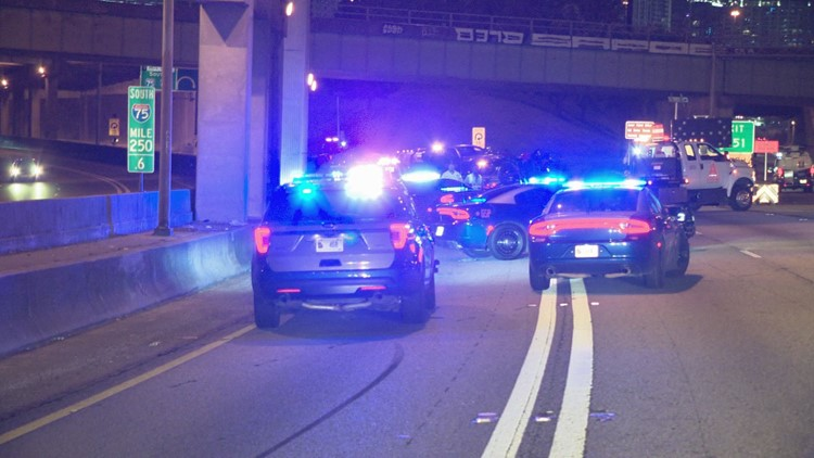 Georgia State Patrol troopers injured after being hit by DUI suspect, motorcycle