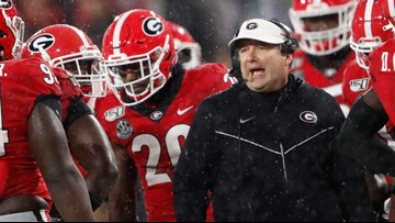 Here's where the Georgia Bulldogs stand in the latest College Football Playoff rankings