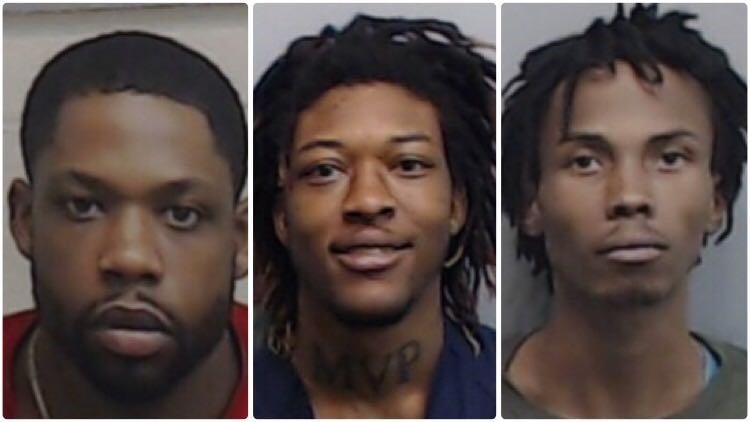Orlando Gibson, Shakur Wright, Lamar Almon