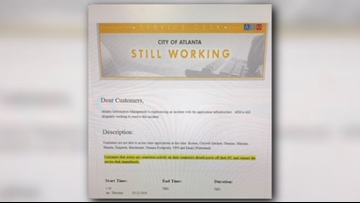 Cyberattack hits Atlanta computers   'Everyone who has done