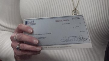 Forsyth County Sheriff gives out thousands of dollars to charities