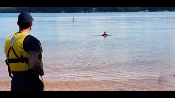 Diving in Lake Lanier probably is one of the most dangerous