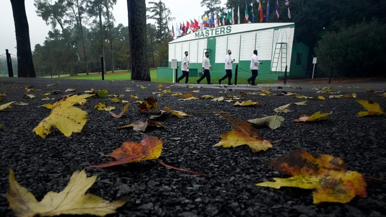 Months after COVID-19 postponement, Masters tees off