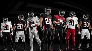 Atlanta Falcons unveil new uniforms