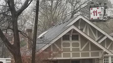 Naked man on roof leads to hours-long SWAT standoff in Atlanta