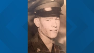 Korean War veteran comes home after being MIA nearly 70 years