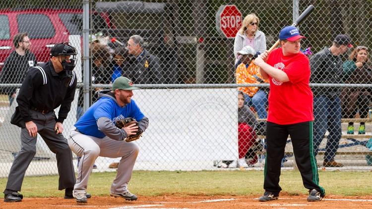 Taylor Duncan at bat