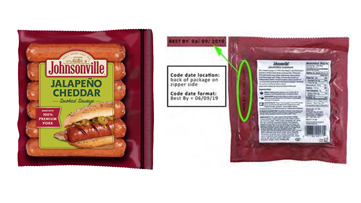 Johnsonville recalling over 95,000 pounds of Jalapeño Cheddar Smoked Sausage Links