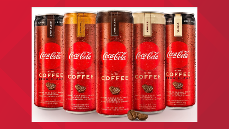 Coke introduces 'Coca-Cola with Coffee' in U.S.