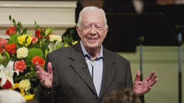 Jimmy Carter will be unable to teach Sunday school following fall, church says