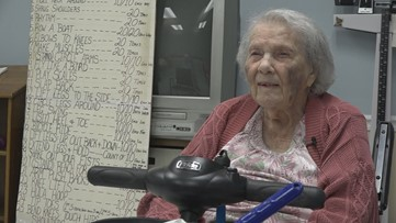 Georgia fitness instructor is turning 105