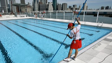 Half of Americans use swimming pools to rinse off instead of showers