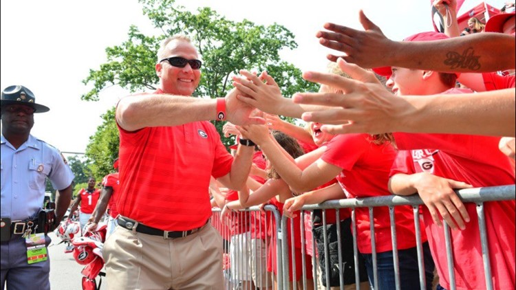 Former UGA head coach Mark Richt to be honored at upcoming football game