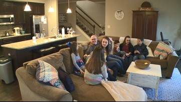 Georgia family adopts five siblings and a year later, their bond continues to grow