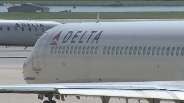 Delta suspending service at 10 US airports starting Wednesday