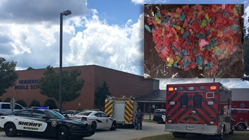 Officials: Tainted candy from food bank likely cause of middle school sicknesses,  not THC