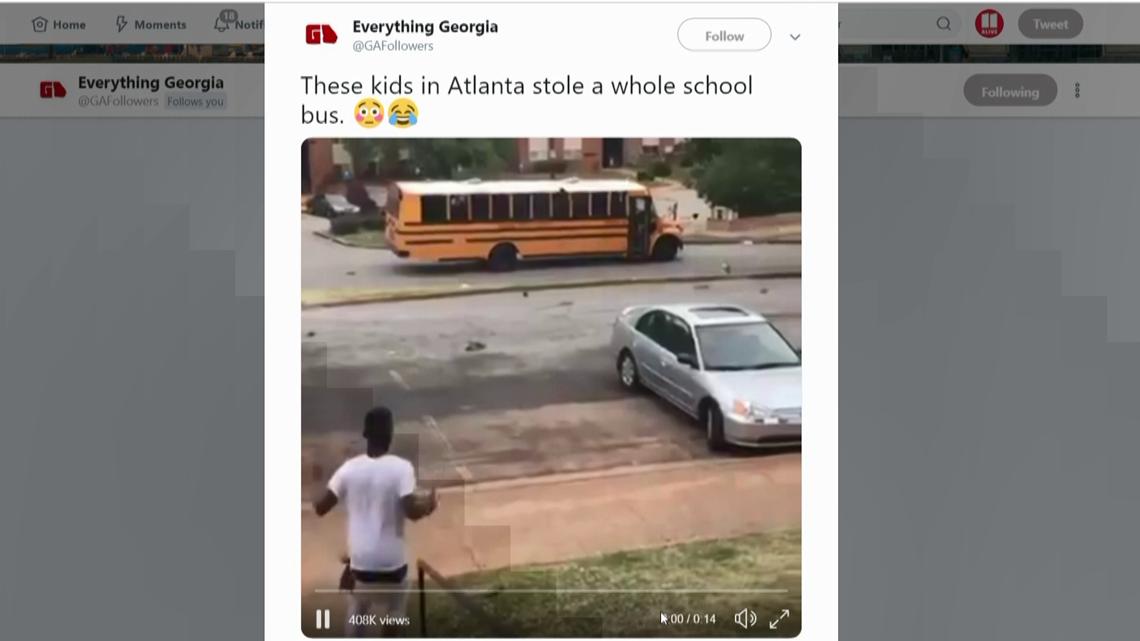 VERIFY: Was an Atlanta Public School Bus stolen by students?