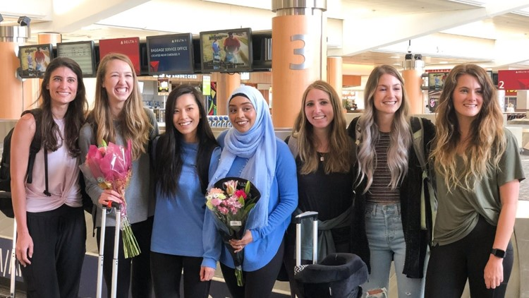 students in peru return to US