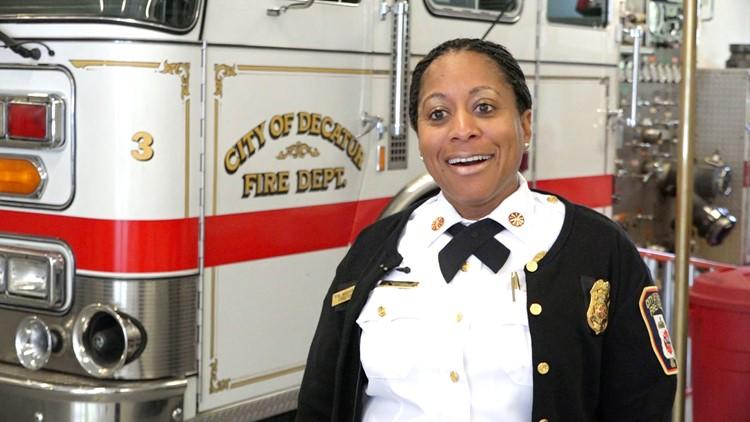Decatur Fire Chief Toni Washington