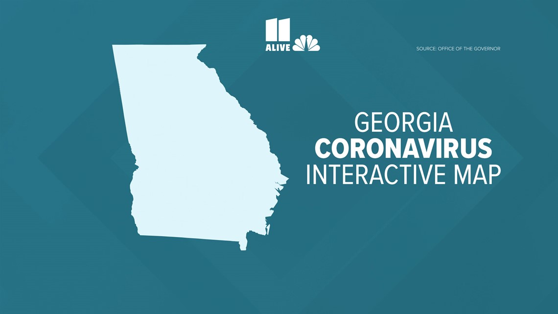 Tracking COVID-19: Georgia Coronavirus Interactive map