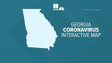 Tracking COVID-19: Georgia Coronavirus Interactive map