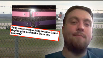 Man admits he flew to Michigan to 'breed' girls and make them 'property'